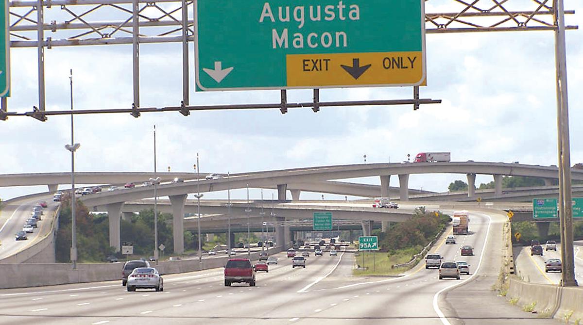 Atlanta's infamous Spaghetti Junction