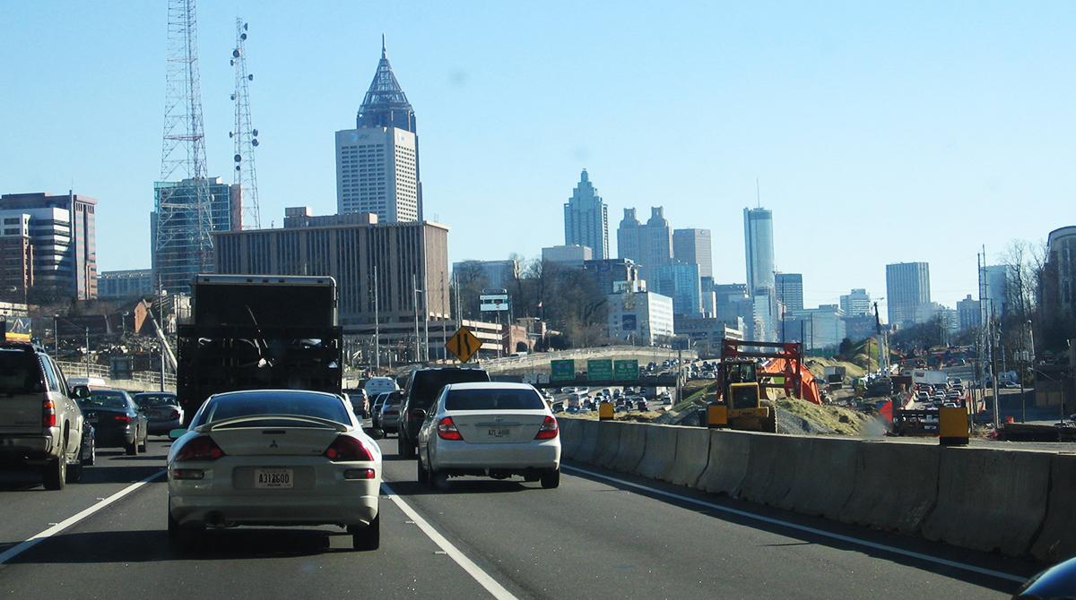 Atlanta from I-75