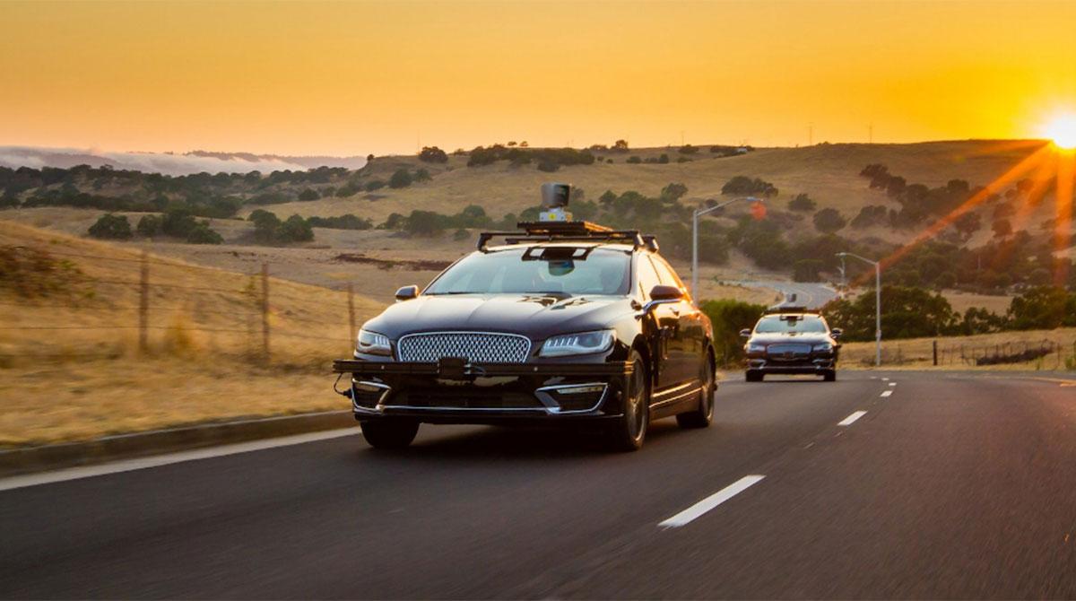Aurora autonomous car