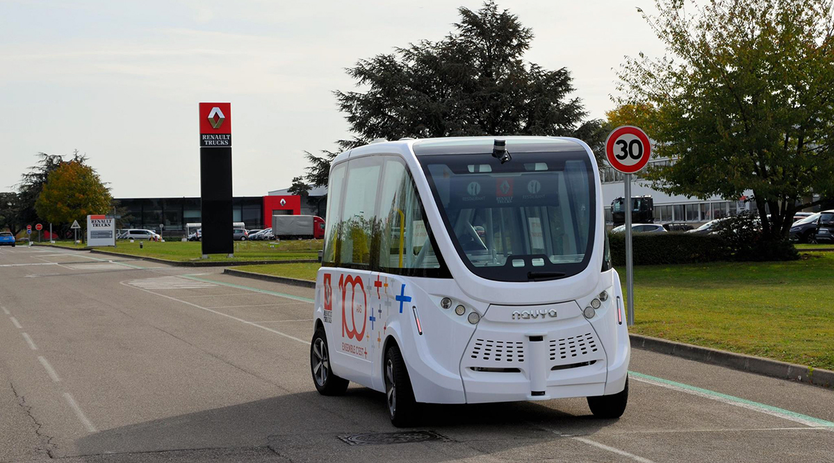 Self Driving Shuttle Bus Test To Begin This Year In Columbus Ohio