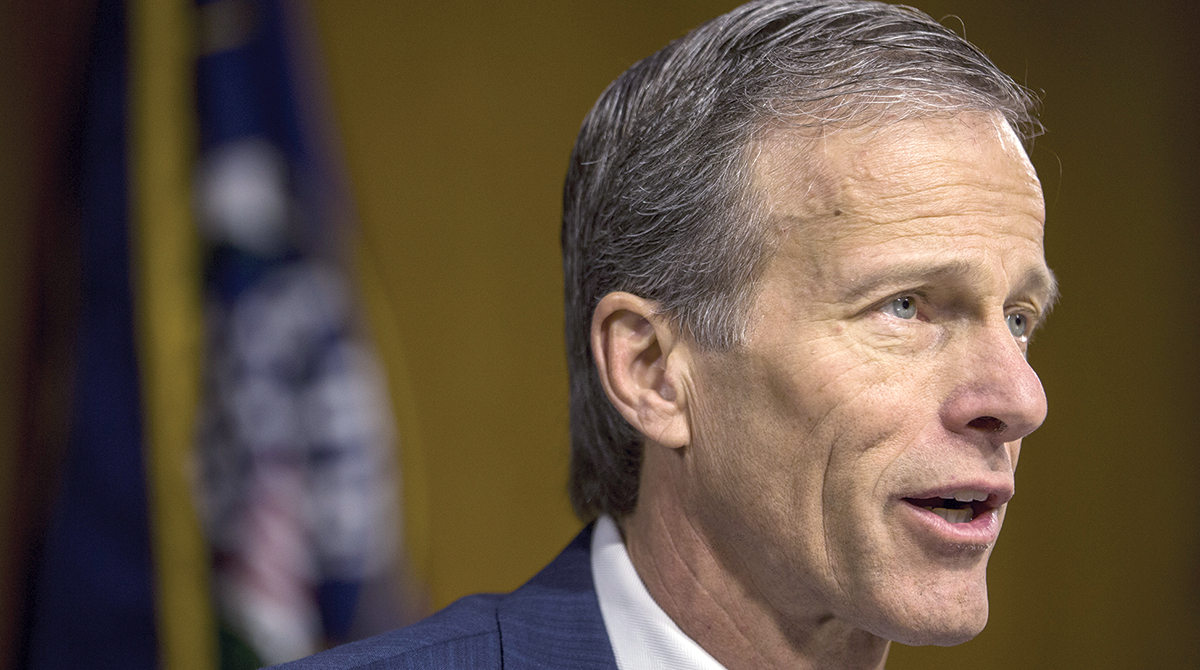 Opportunity Exists for Advancing Autonomous Vehicles Bill This Congress, Sen. John Thune Says