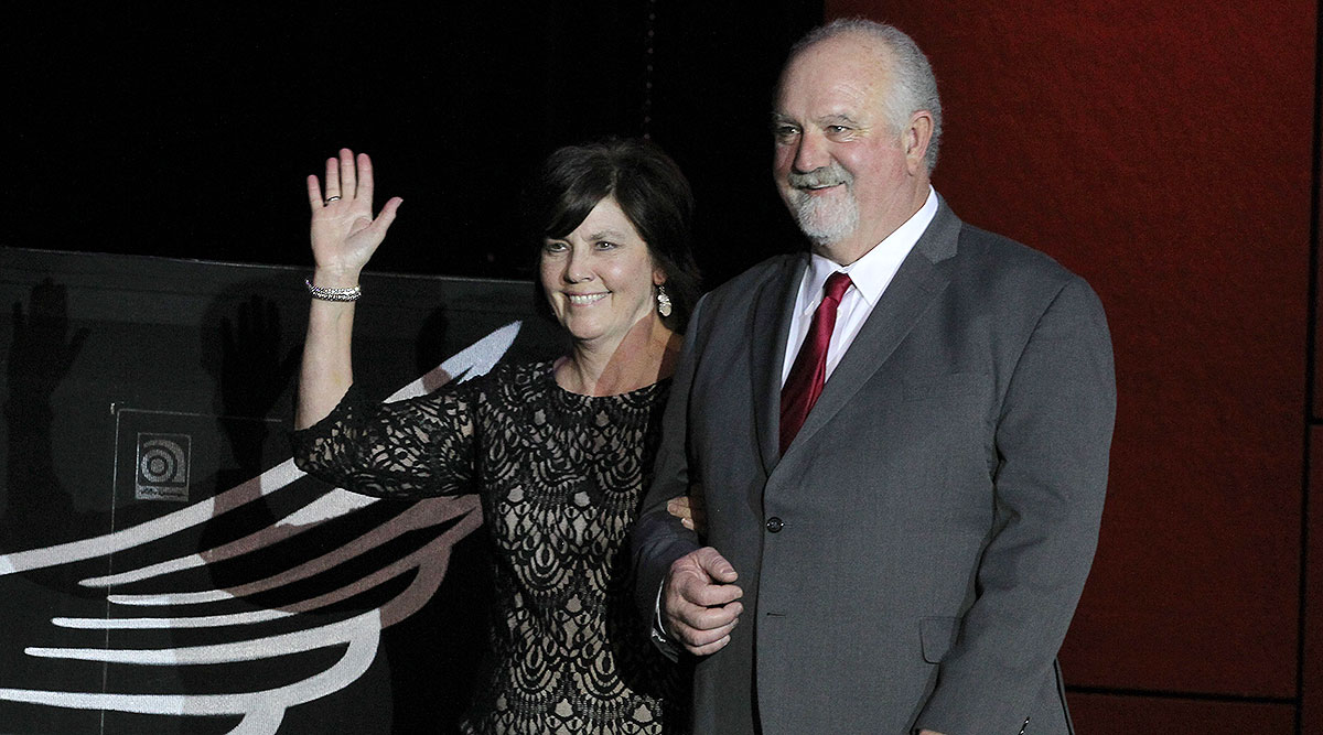 ATA Chairman Barry Pottle and wife Suzanne