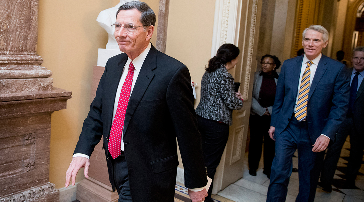 Sen. John Barrasso (R-Wyo.), chairman of the Environment and Public Works Committee