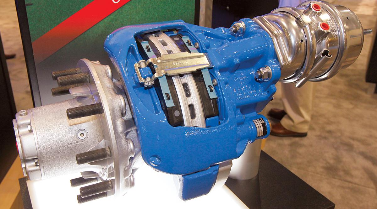 Bendix air disc brake