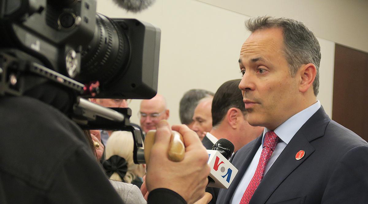 Kentucky Gov. Matt Bevin