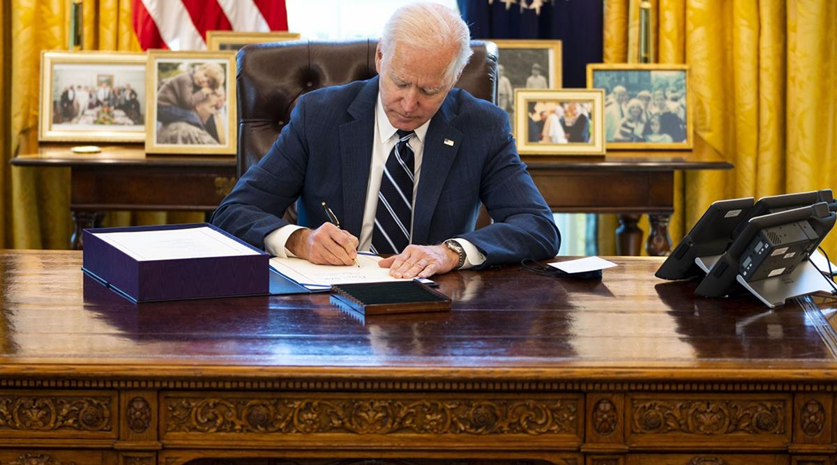 President Biden signs the $1.9 trillion COVID-19 relief bill