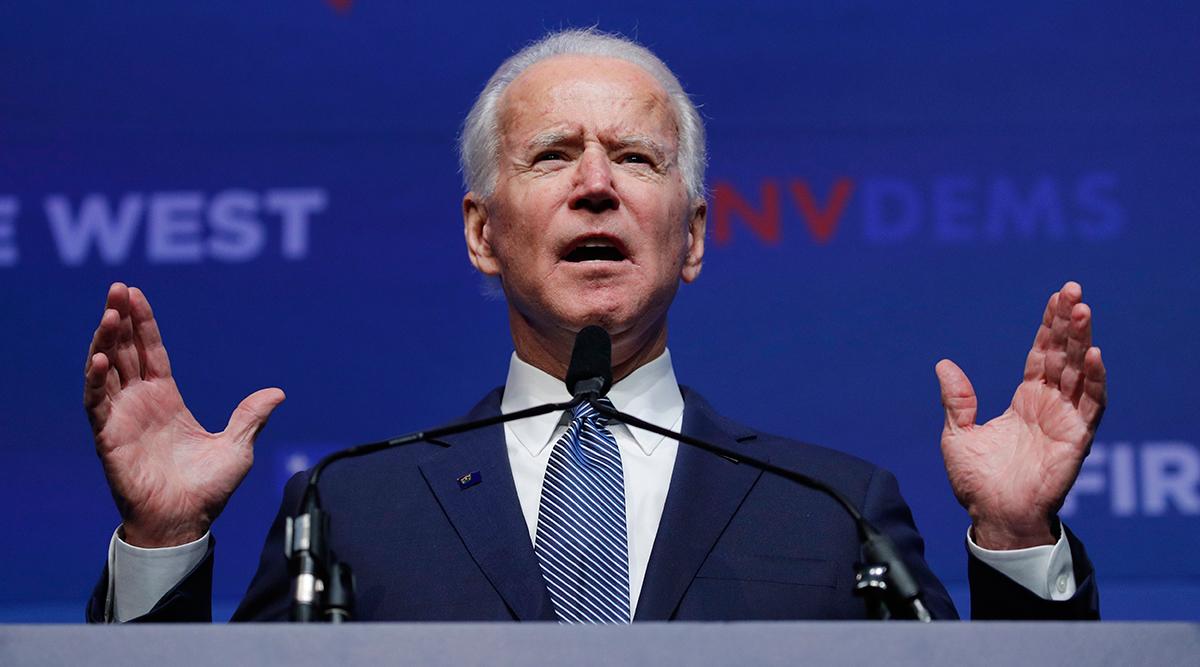 Presidential candidate Joe Biden