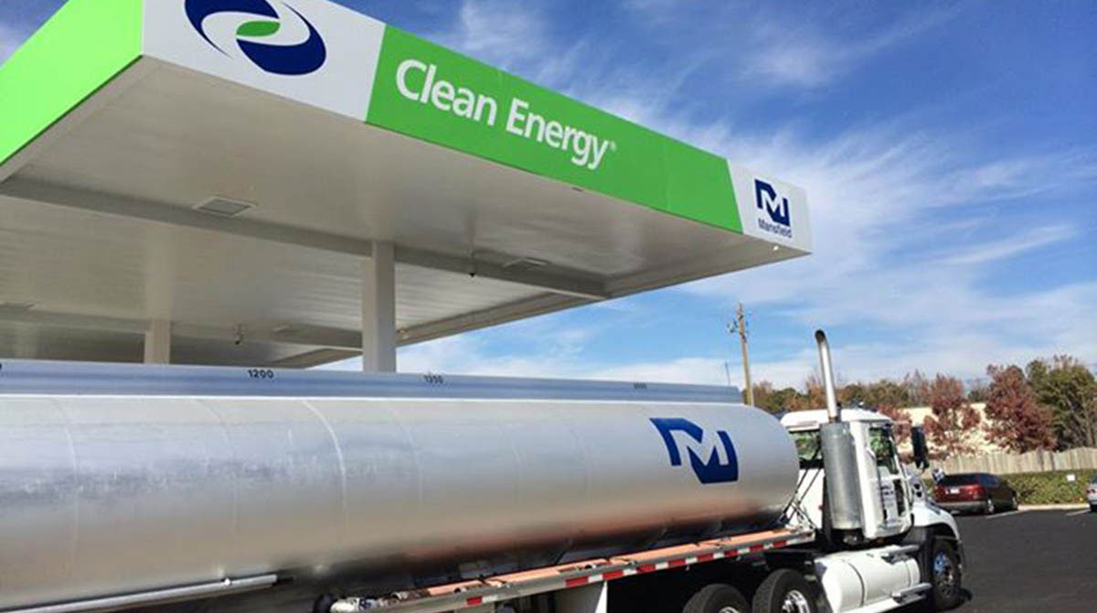 Clean Energy fueling station