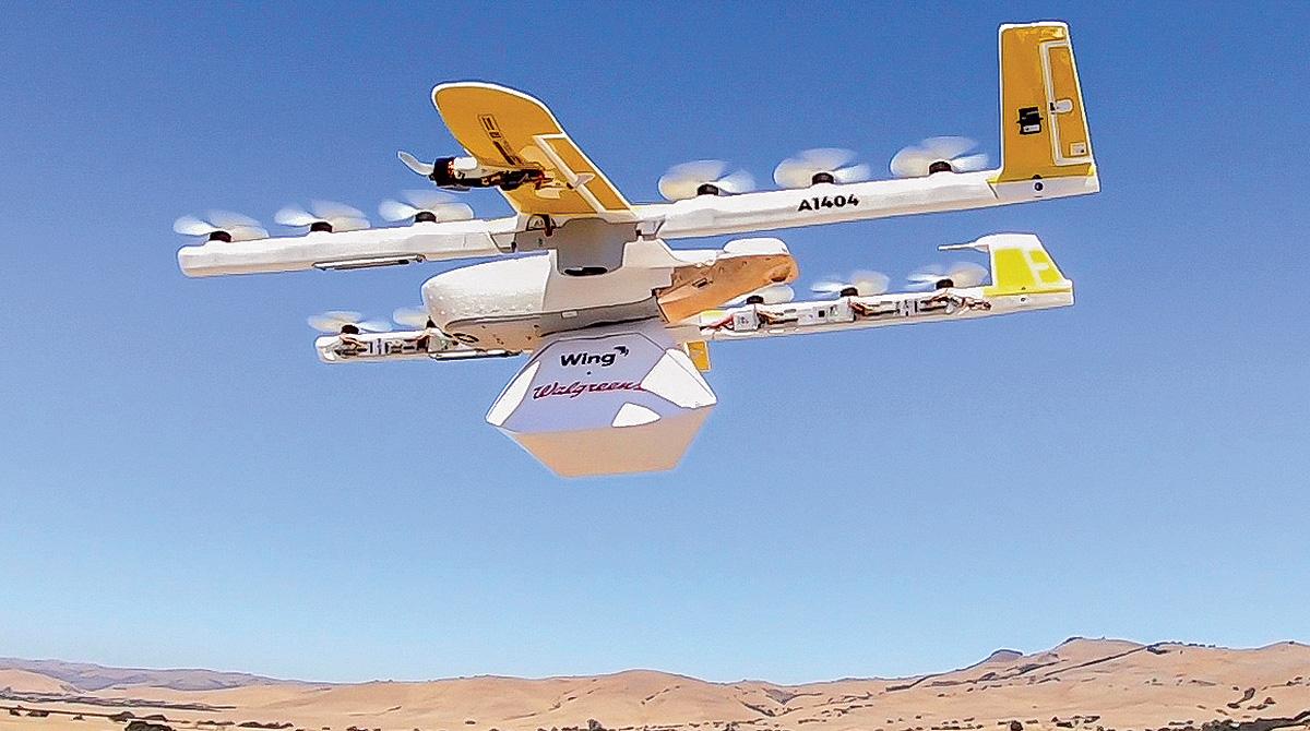 Walgreens drone