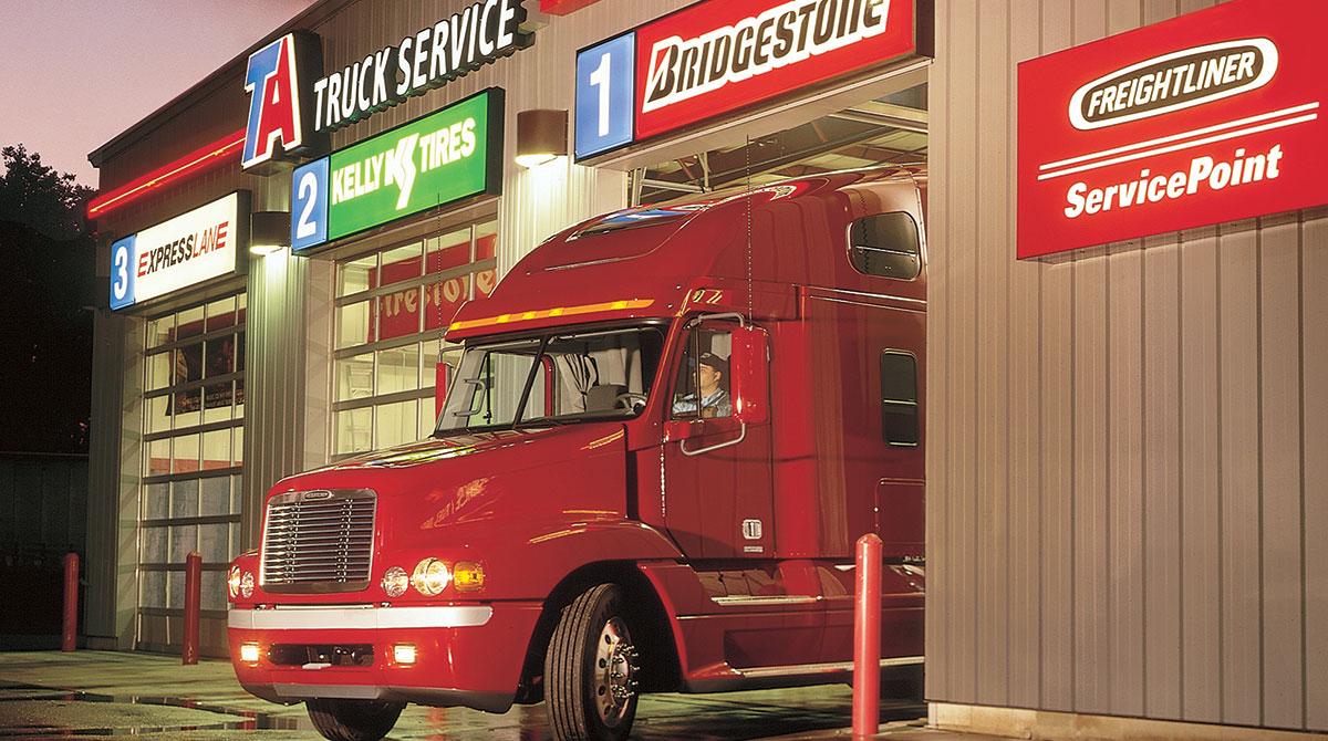 TA truck service location