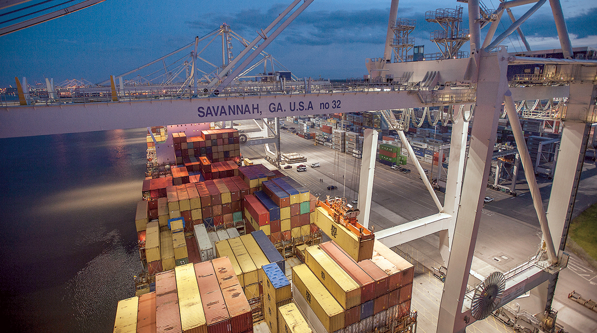 Georgia Ports Chief Warns Chinese Tariffs Could Cost State