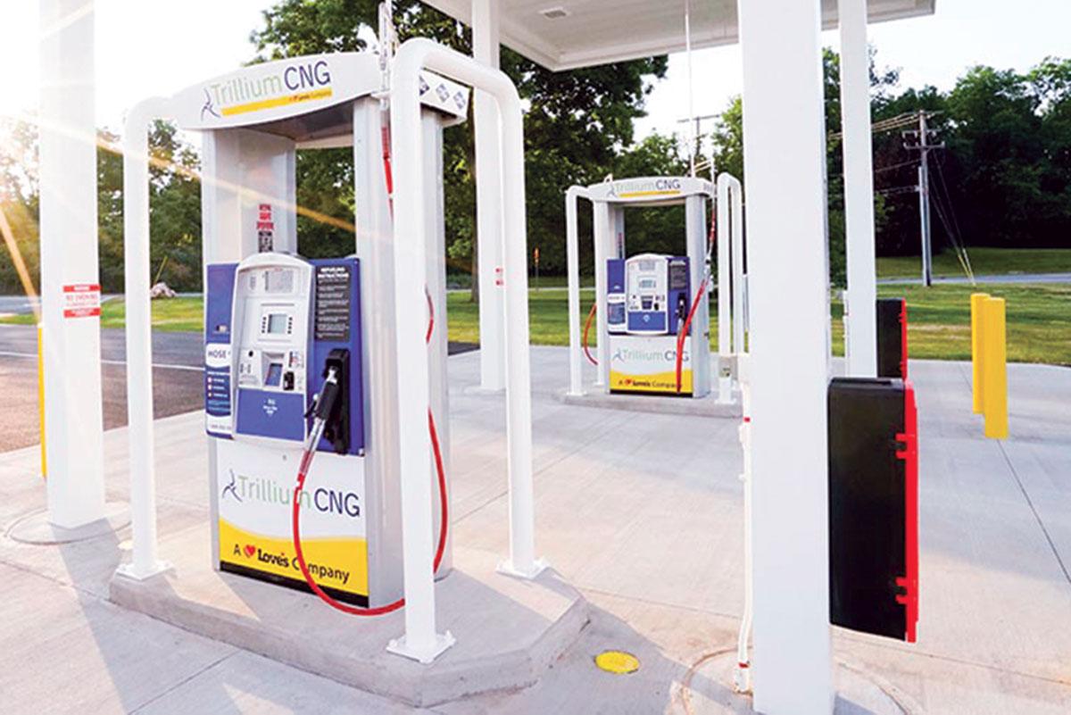 Trillium CNG pump