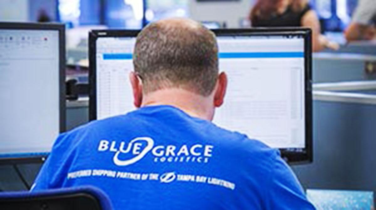 BlueGrace Logistics employee