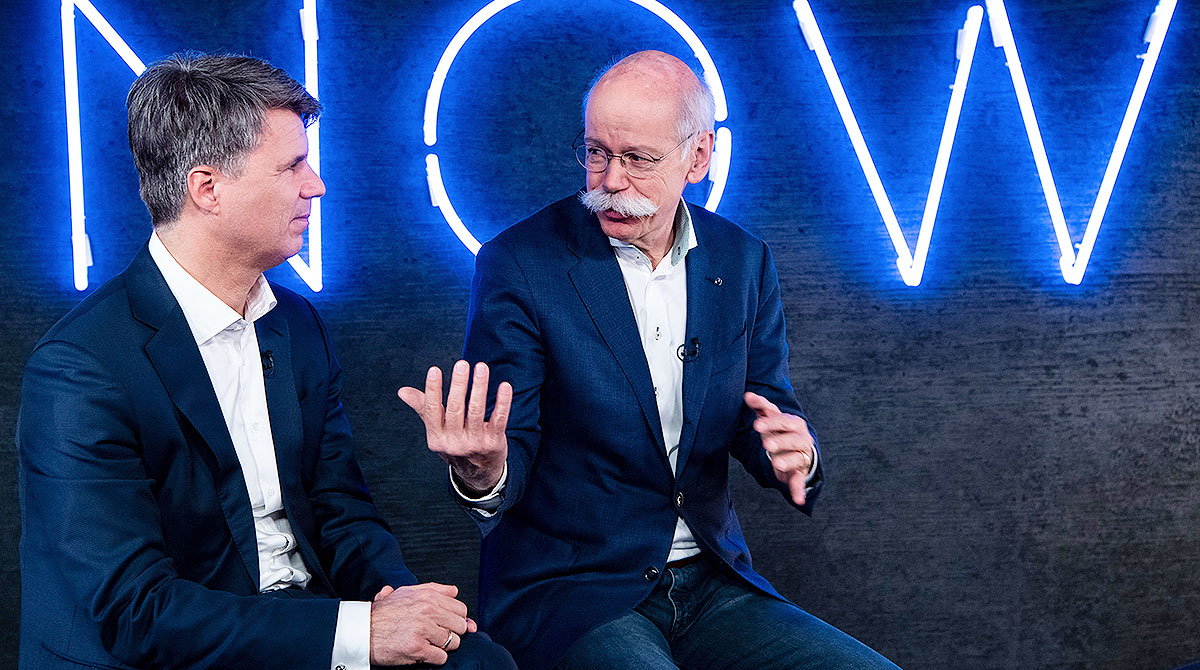 Harald Krueger and Dieter Zetsche