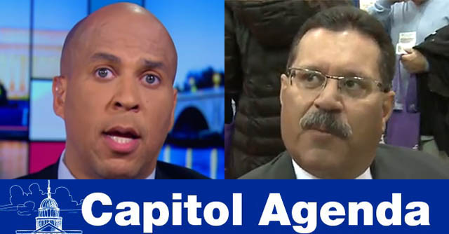 Cory Booker, Ray Martinez