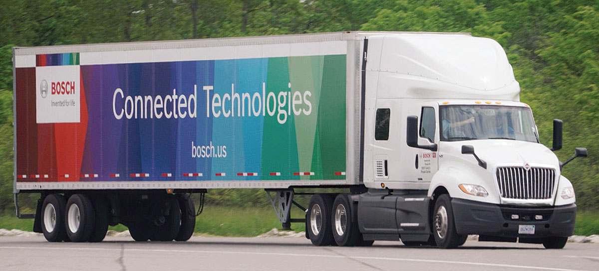 Bosch connected truck