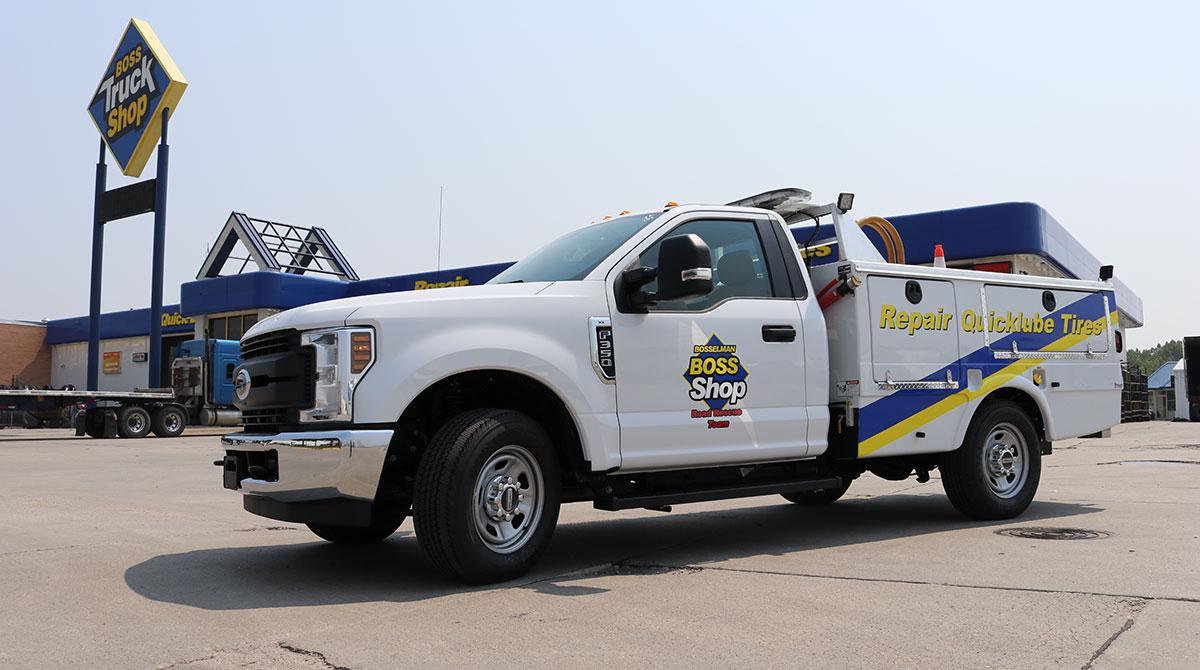 Boss Truck Shops vehicle