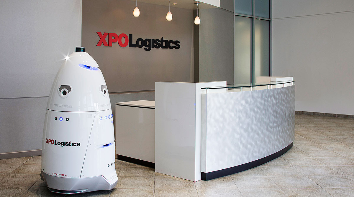 XPO Logistics robot