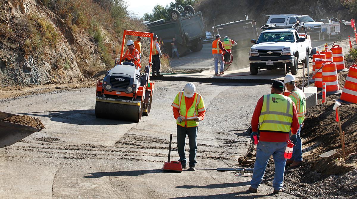 California roadwork