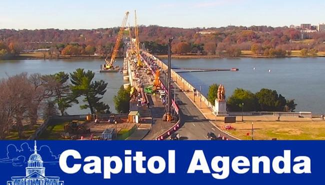Arlington Memorial Bridge repair