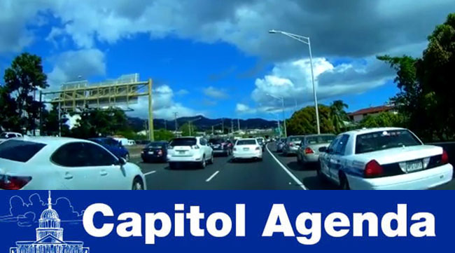 Traffic on H1 in Honolulu