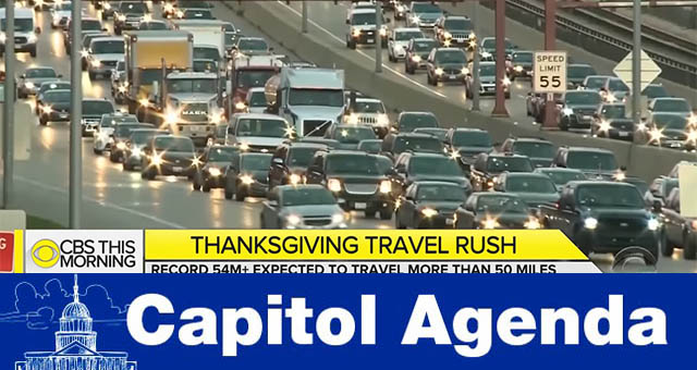 Thanksgiving traffic 2018