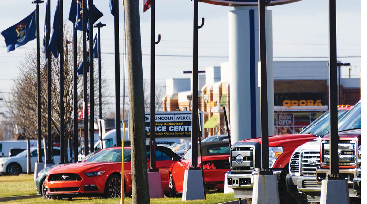 Car Sales Drop as Chip Shortages Stymie Buyers