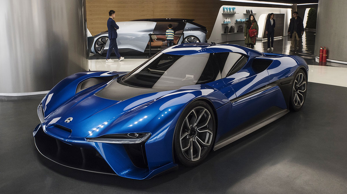 Nio self-driving car
