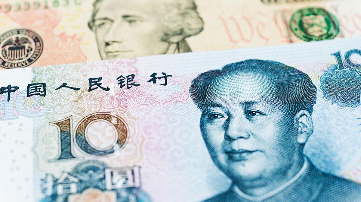 Chinese and U.S. money