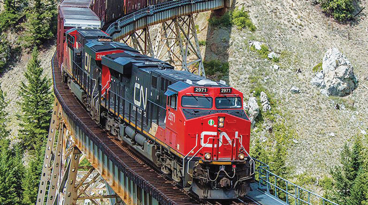 CN Railway train