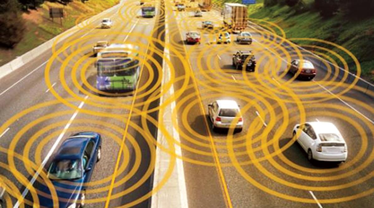 Rendering of connected highway
