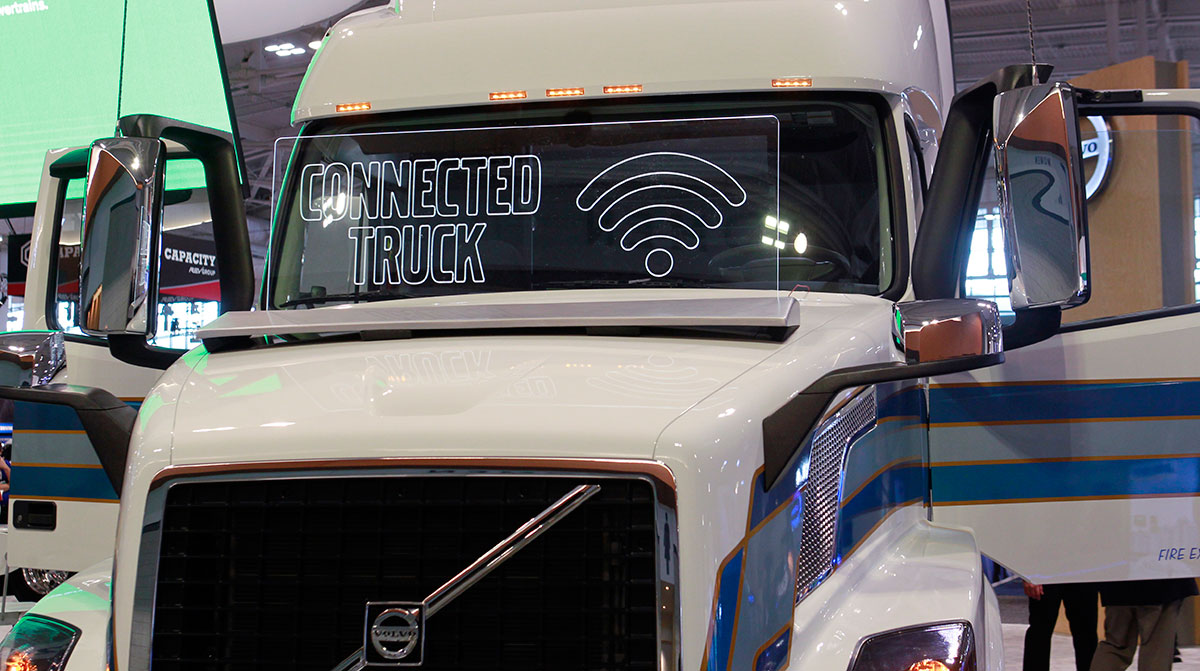 Volvo connected truck