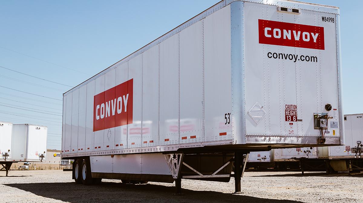 Convoy branded trailer