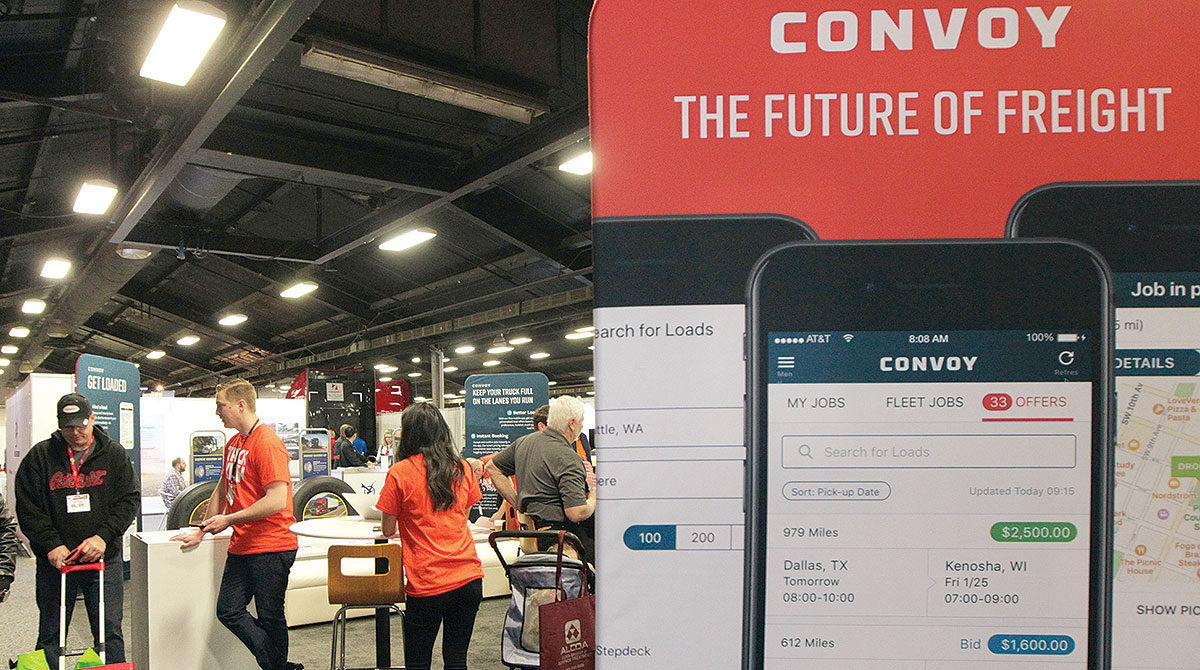 Convoy booth at MATS 2018