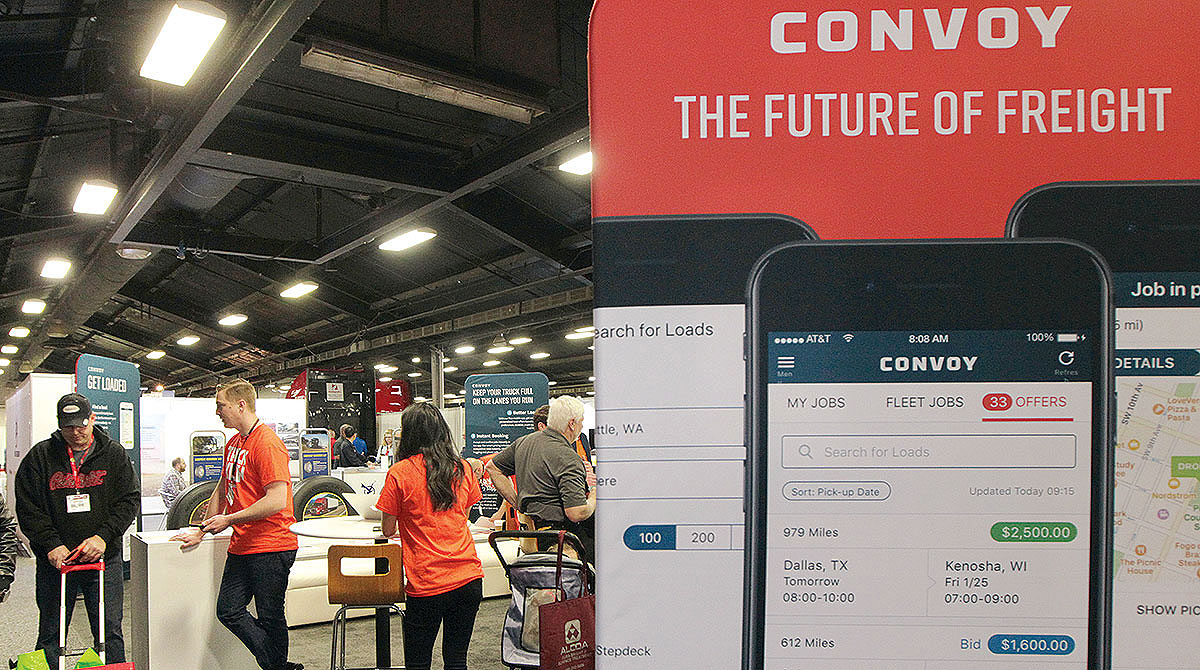 Convoy booth at MATS