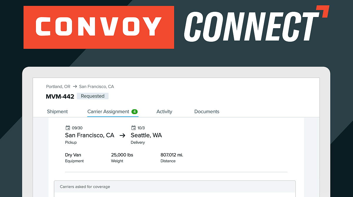 Convoy Connect screenshot
