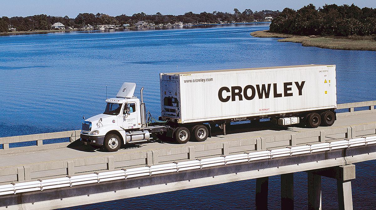 Crowley Logistics truck