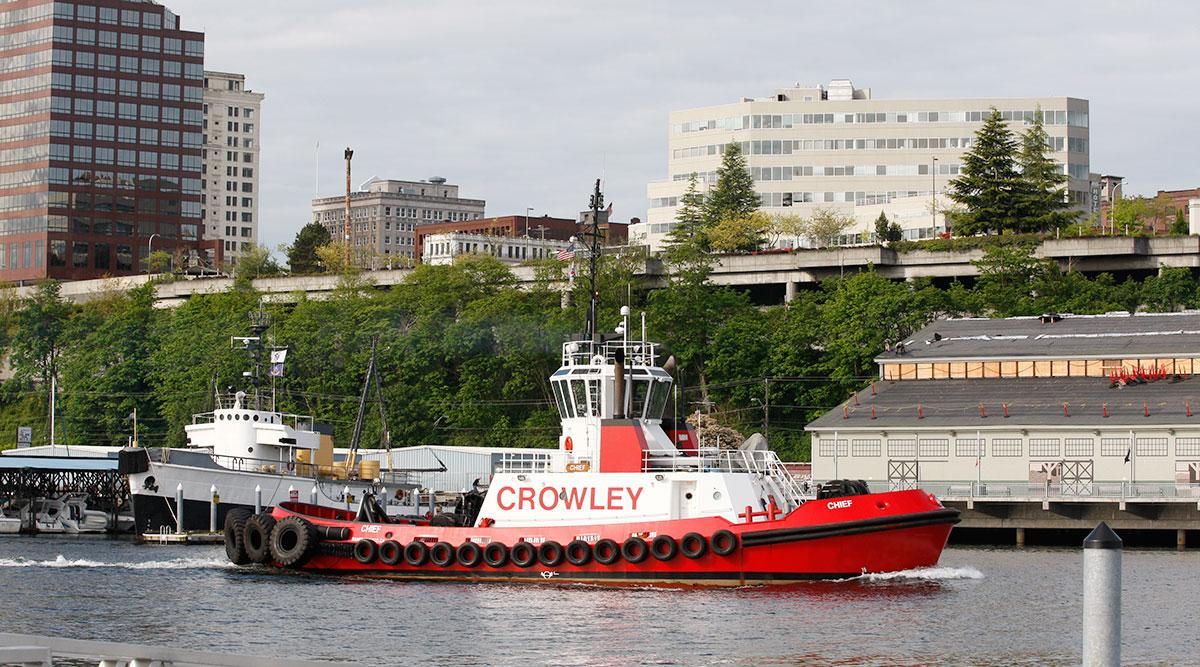 Crowley tugboat