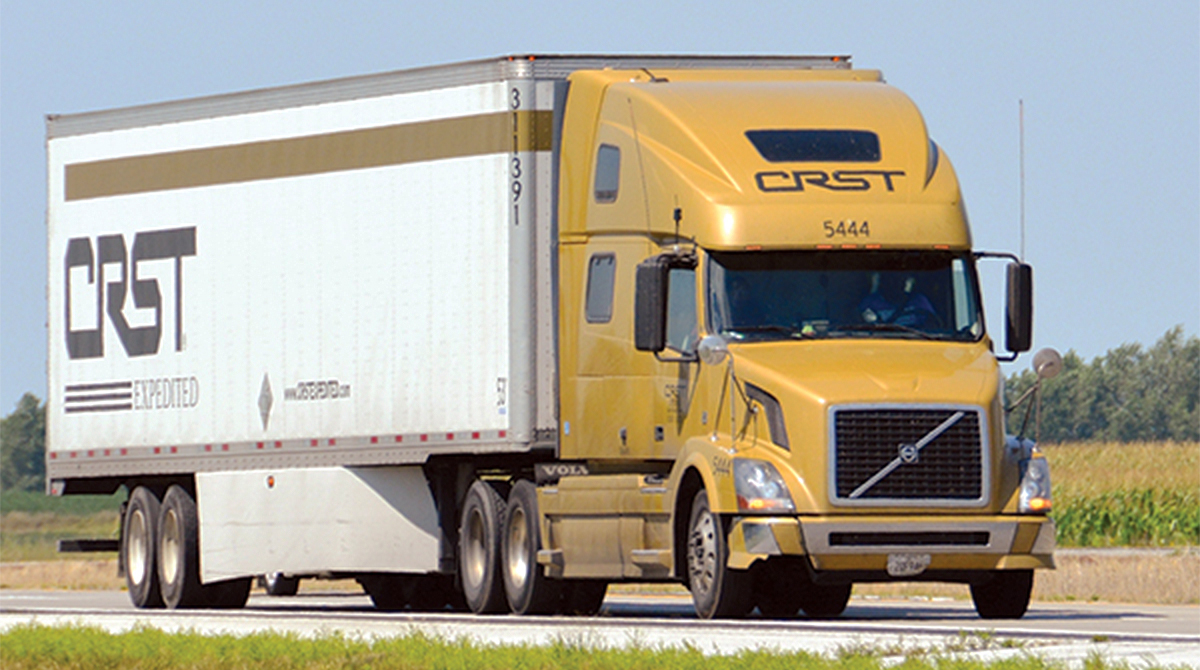 CRST Expedited truck