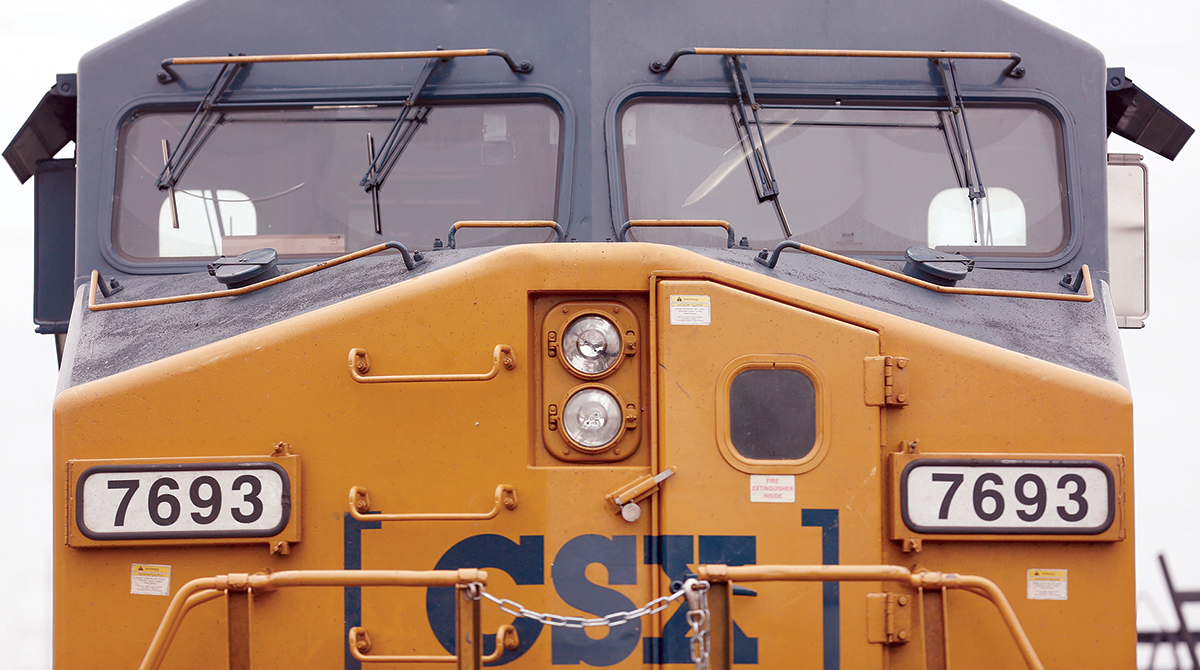 CSX sets operating ratio record