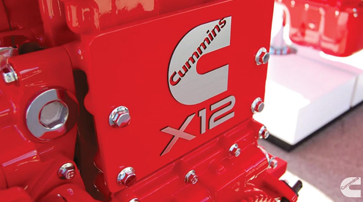 Cummins X12 engine