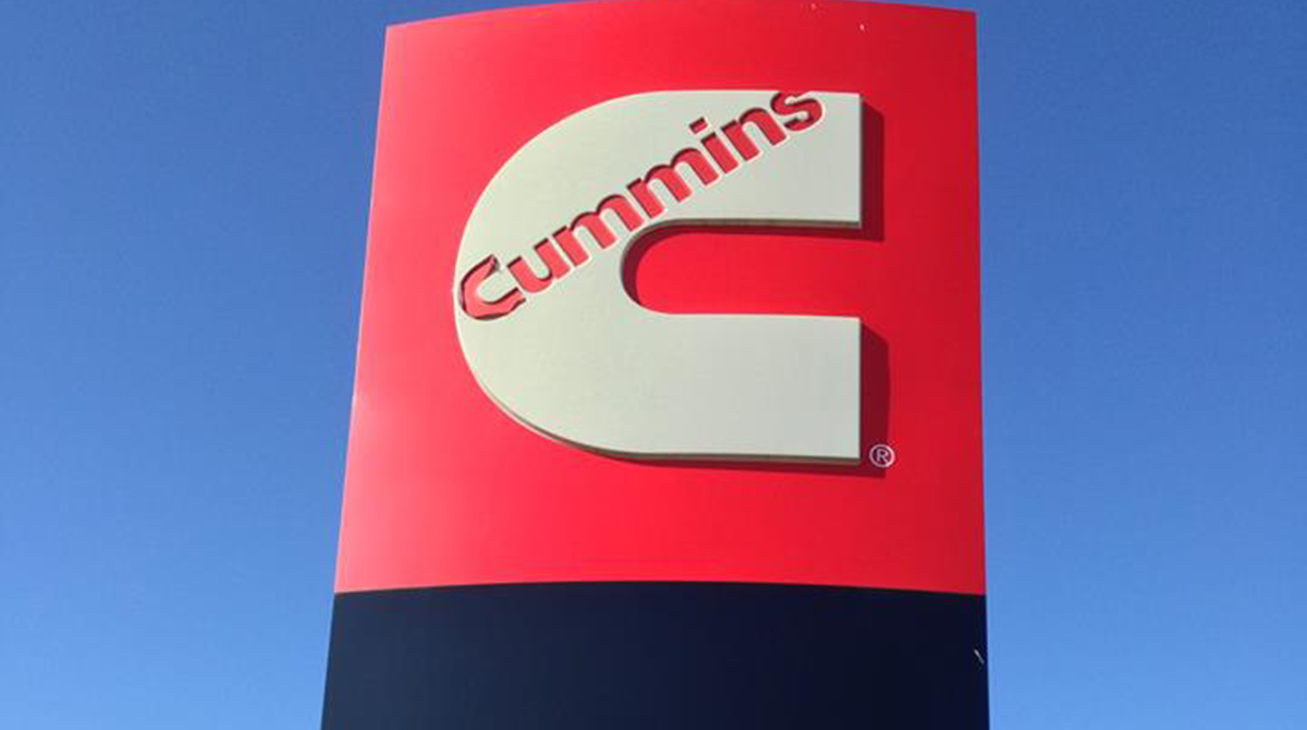 Cummins sign in Nashville
