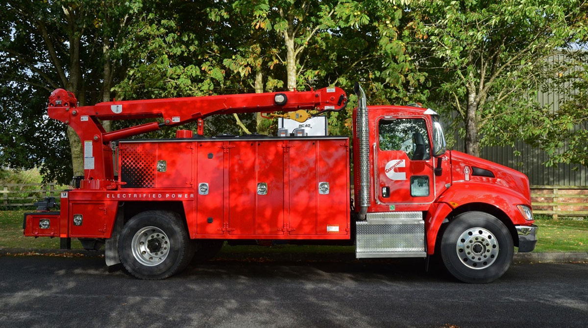 Cummins PowerDrive hybrid truck
