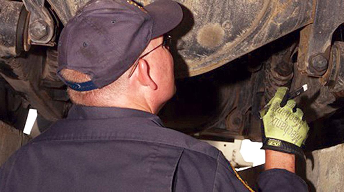 CVSA brake inspection