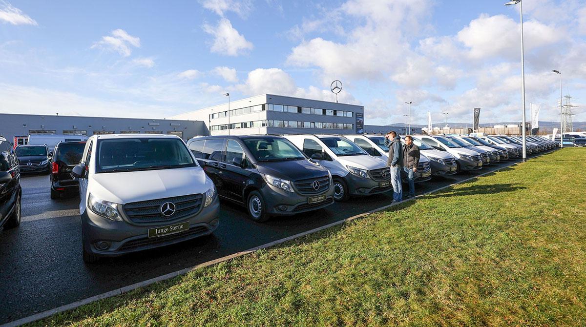 Mercedes trucks and vans