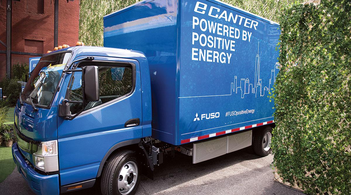Fuso eCanter truck