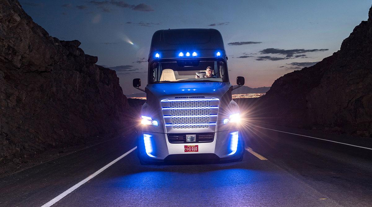 Daimler Freightliner truck