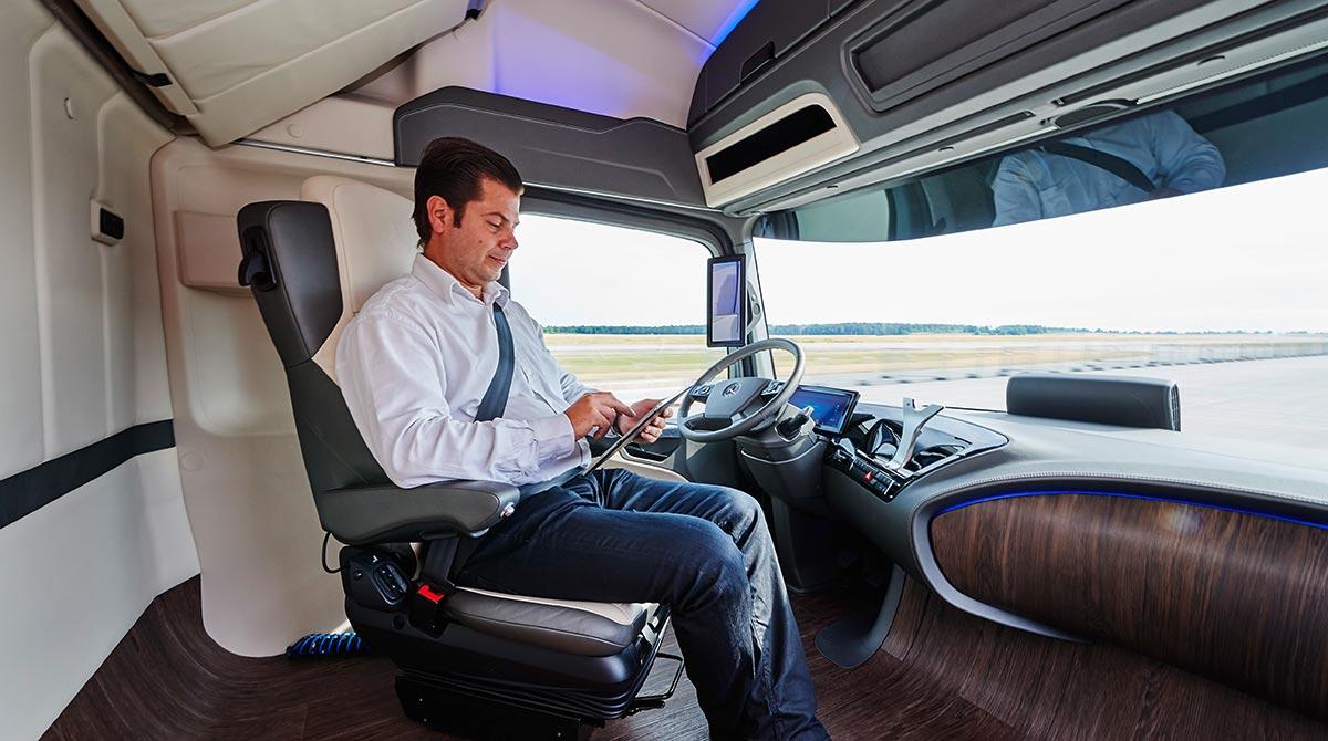 Daimler's autonomous Future Truck