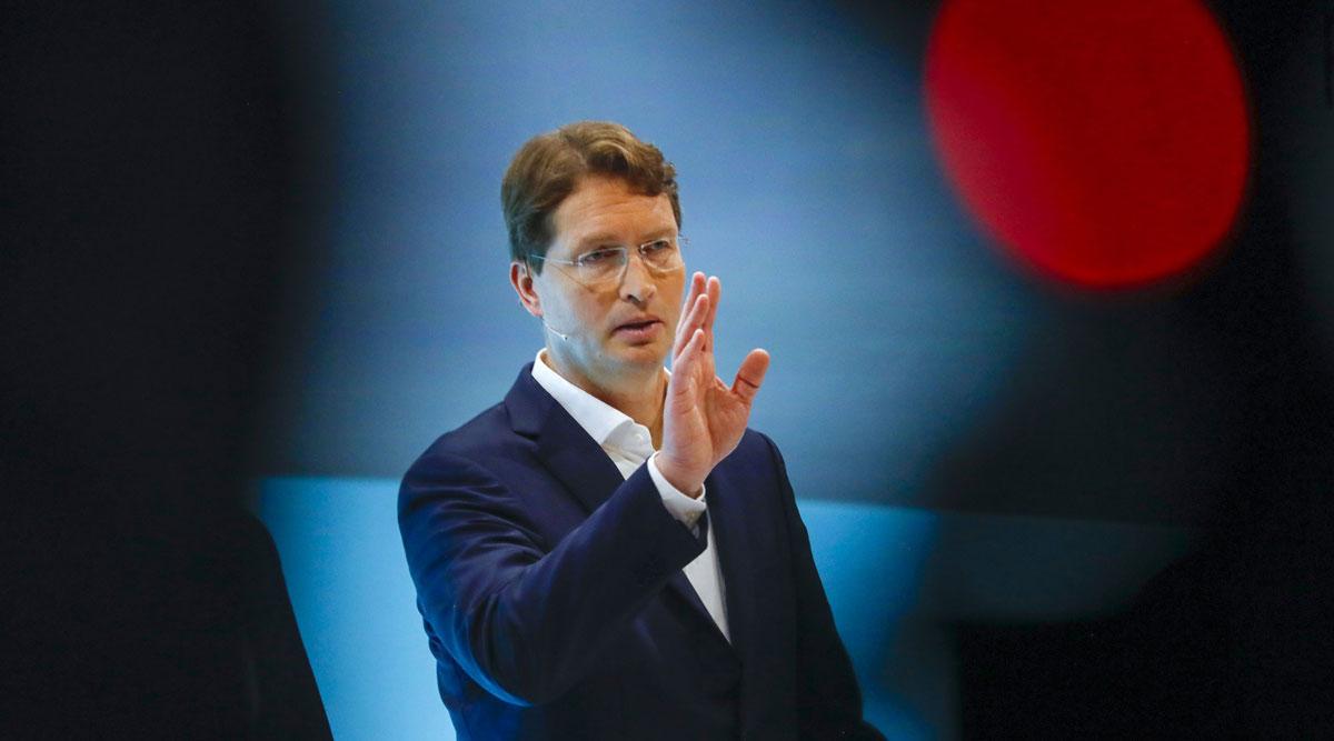 Daimler CEO Ola Kallenius.