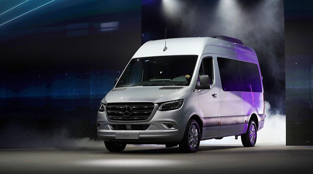 Daimler Ag S Mercedes Benz Sprinter Van Krisztian Bocsi Bloomberg News
